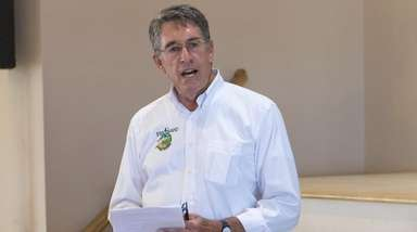 Chris Soller, superintendent of Fire Island National Seashore,