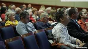 Residents voiced their concerns on theimpact of the