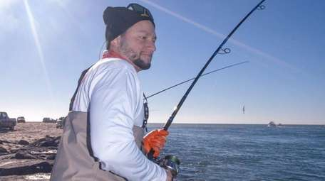 Residents need a permit for surf fishing in