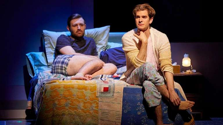 James McArdle and Andrew Garfield star in