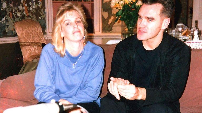 DJ Malibu Sue interviews Morrissey at Long Island's