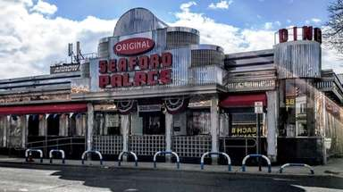 The Seaford Palace Diner, seen here on March