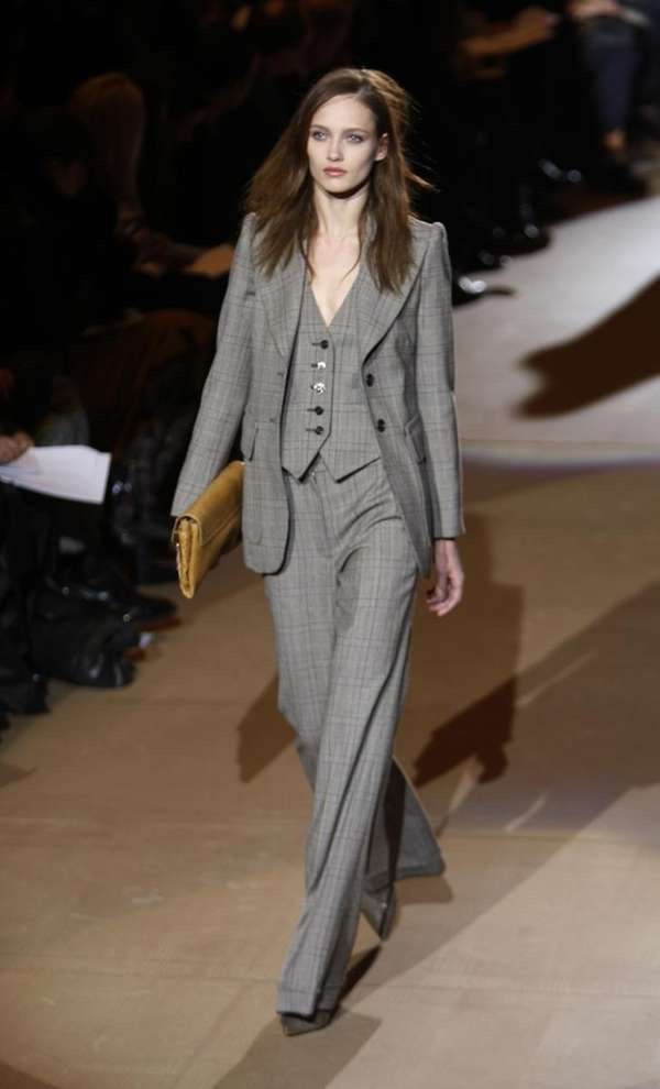 The Marc Jacobs fall 2010 collection is modeled