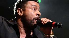 Shaggy, performing at KTUphoria at Northwell Health at