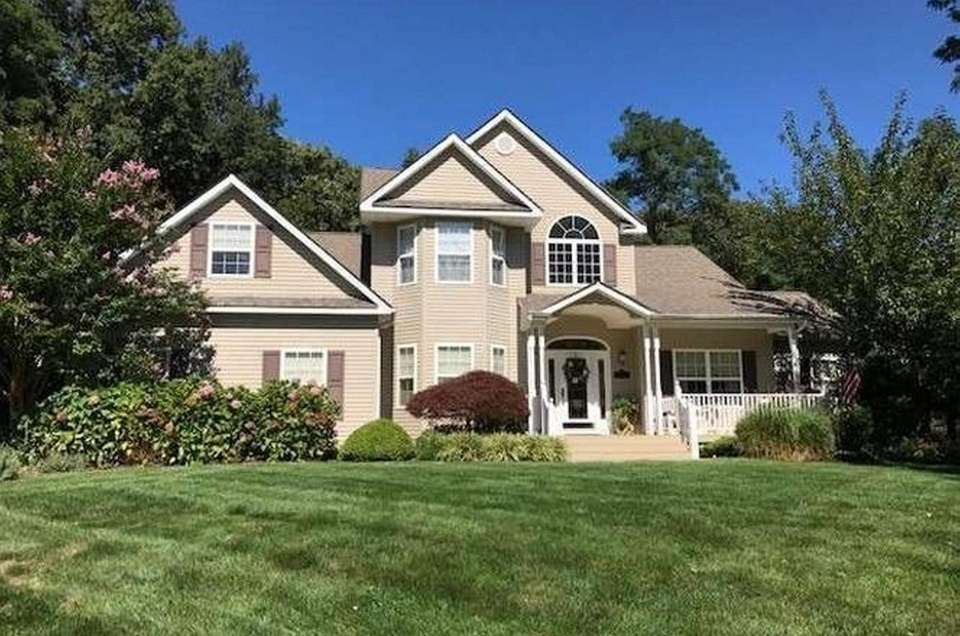 This Stony Brook home includes four bedrooms and