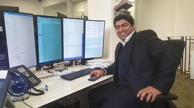 Long Blockchain Corp. CEO Shamyl Malik. Feb 21,