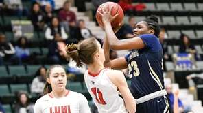 Destiny Samuel had 9 points, 3 steals and