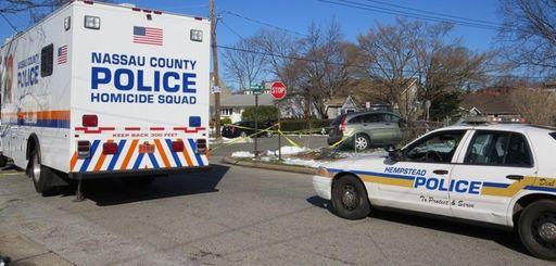 Nassau police investigate the scene of a fatal
