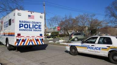 Nassau police investigate the scene of a fatal