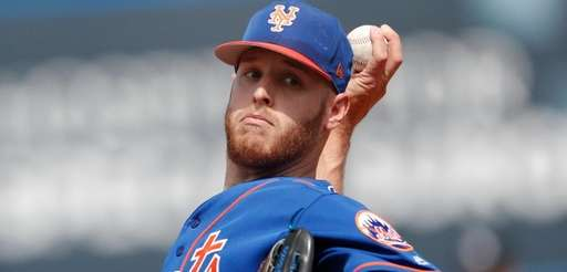 The Mets have sent pitcher Zack Wheeler down