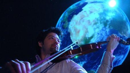 Classically trained violinist Kenji Williams, creator of