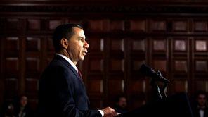New York Gov. David Paterson (Feb. 9, 2010)