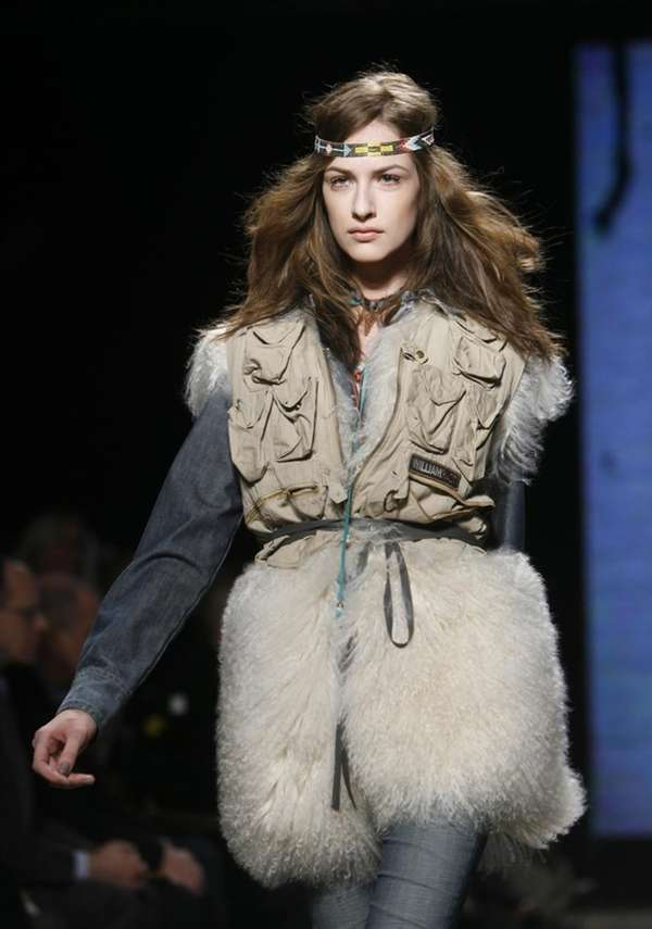 The William Rast fall 2010 collection is modeled