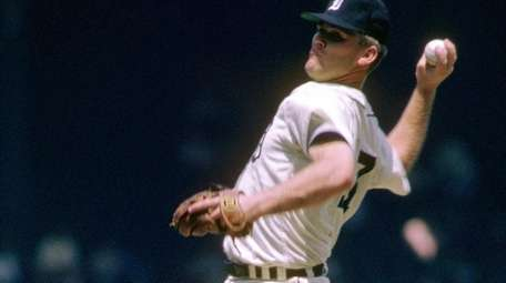 Detroit's Denny McLain in 1968, a year in