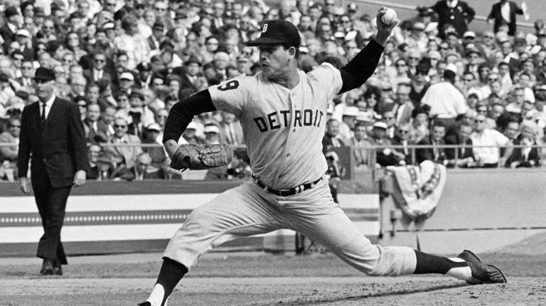 Detroit's Mickey Lolich pitched Game 2 of the