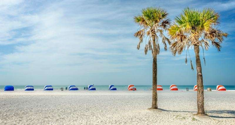 A short drive from Tampa, Clearwater Beach is
