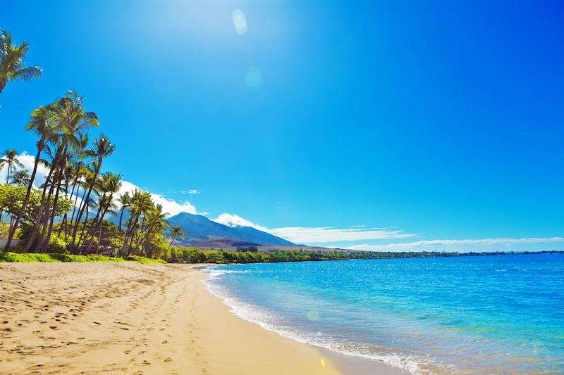 Ka'anapali Beach, located in West Maui, is among