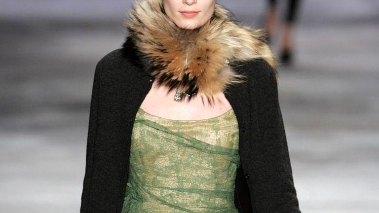 Isaac Mizrahi fall fashion 2010, at the tents