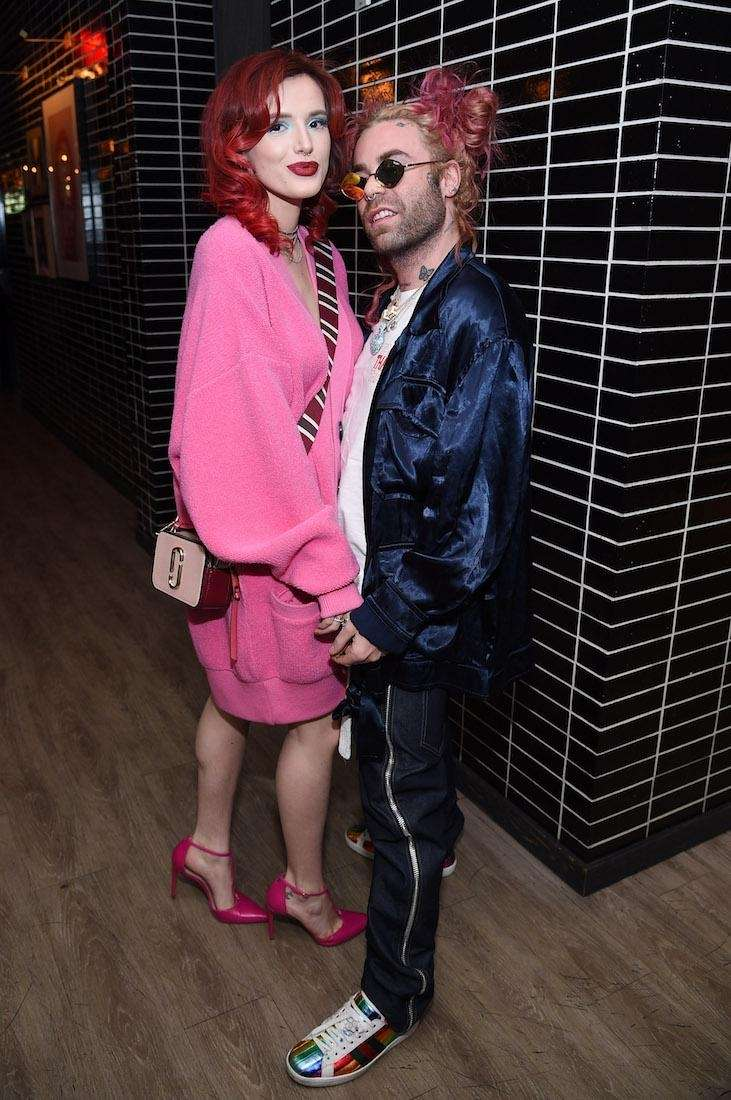 Bella Thorne and Mod Sun attend the after