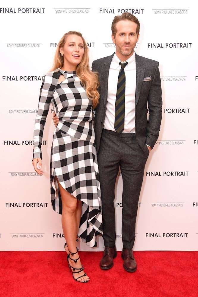 Actors Blake Lively and Ryan Reynolds attend the