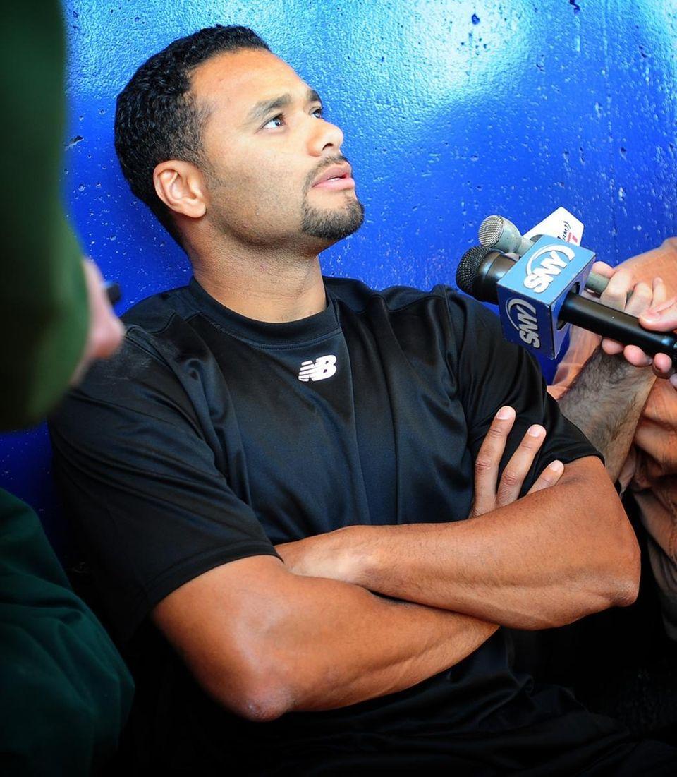 Mets pitcher Johan Santana maintains he's still the