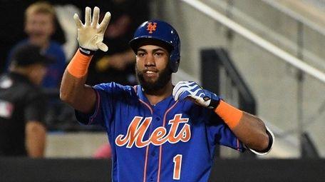 Mets shortstop Amed Rosario at Citi Field on