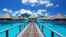 The St. Regis Bora Bora Resort in French
