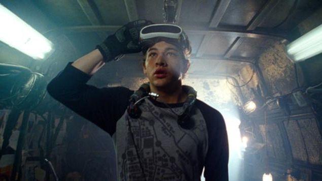 Tye Sheridan in Steven Spielberg's