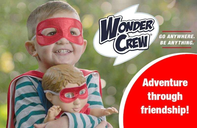Wonder Crew Superhero Will by PlayMonster combines action