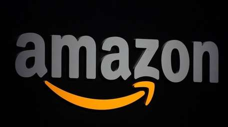 Amazon's logo.