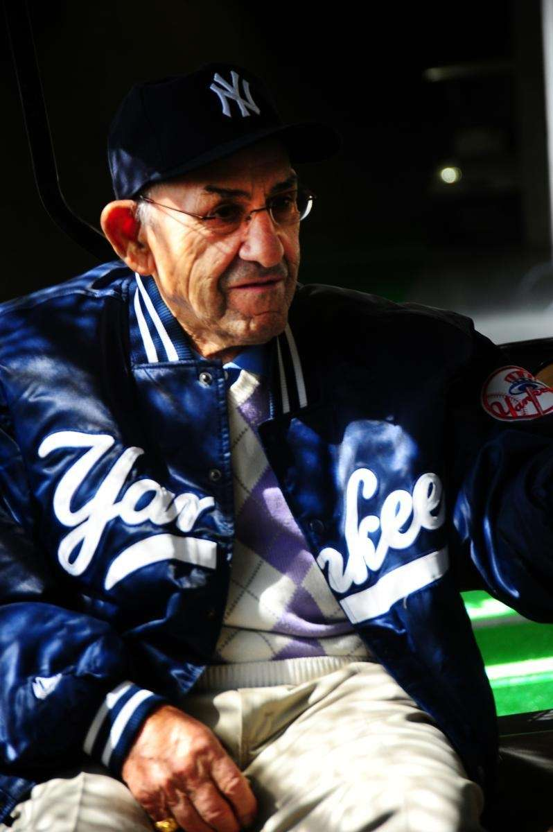 New York Yankees Hall of Fame catcher Yogi