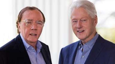 James Patterson and Bill Clinton co-authored