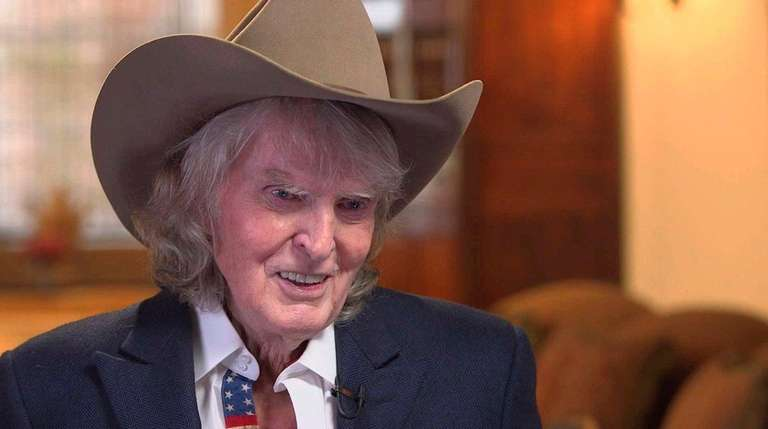 The 78-year old son of father (?) and mother(?) Don Imus in 2019 photo. Don Imus earned a  million dollar salary - leaving the net worth at  million in 2019