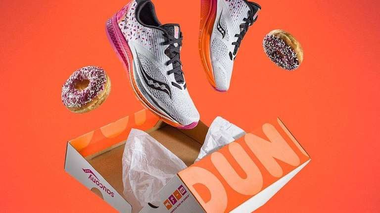 In March 2018, Dunkin' Donuts and Saucony introduced