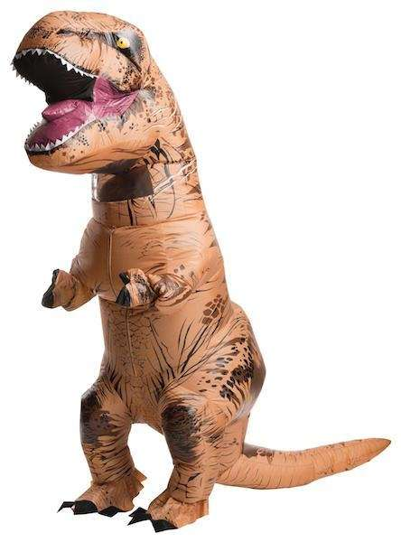 Rubie's Jurassic World T-Rex Inflatable Costume by Rubie's