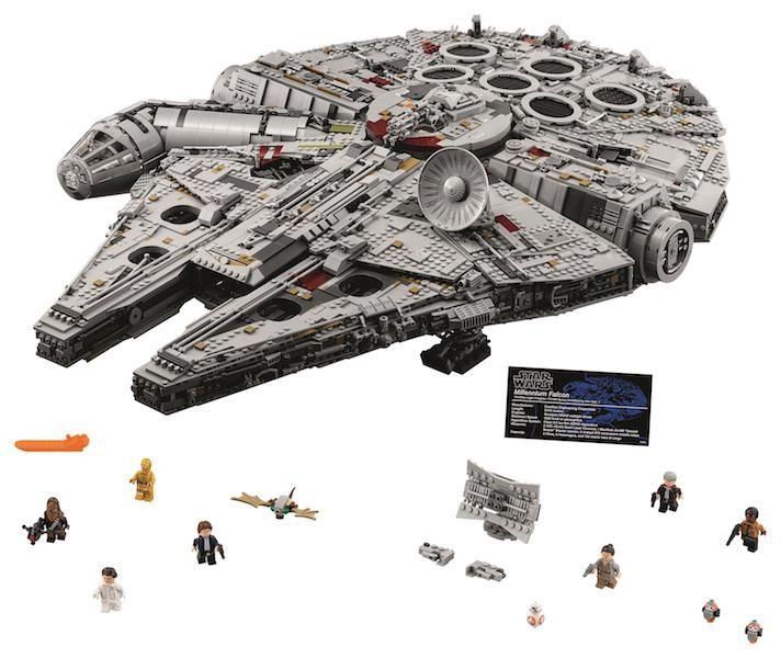 Lego Star Wars Millennium Falcon by Lego Systems,