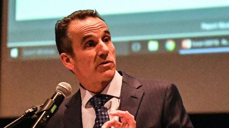Patrick Brimstein, superintendent of the Eastport-South Manor school