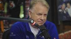 Boomer Esiason in the WFANs morning show studio