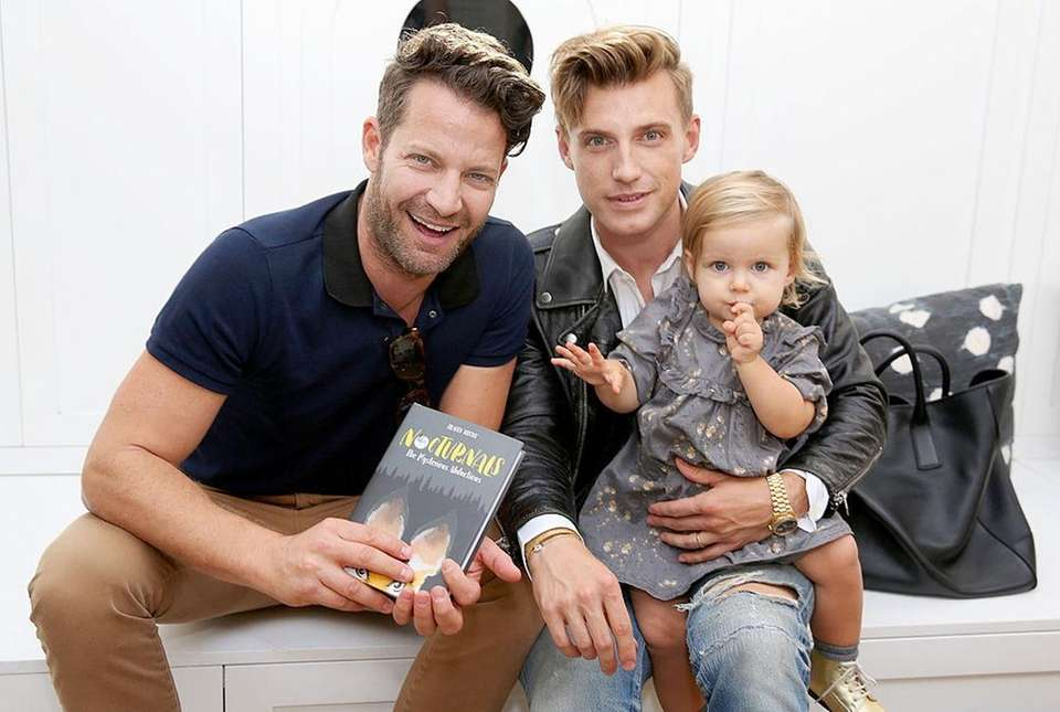 Nate Berkus and Jeremiah Brent, stars of TLC's