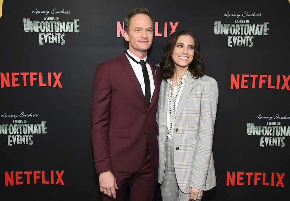 Neil Patrick Harris and Allison Williams attend the