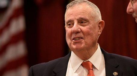 Outgoing Nassau Republican Chairman Joseph Mondello has reappointed