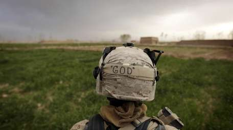 A Marine with the 1st Battalion, 3rd Marines,