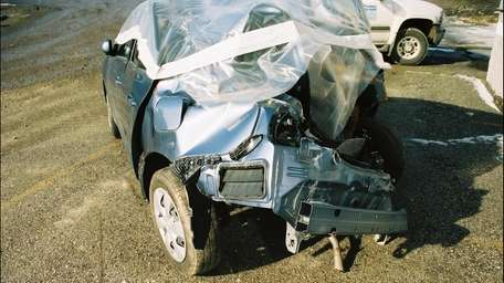 Tyrene Livingston's Toyota Yaris, after her fatal acceleration