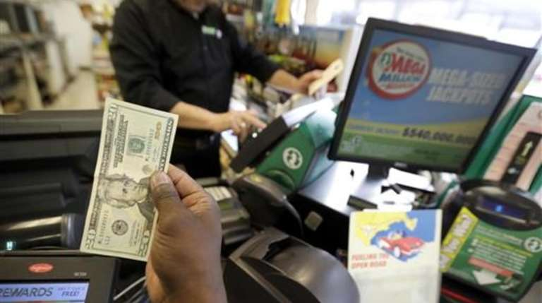 Where in New Jersey was the mega millions ticket sold?