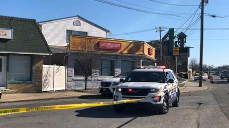 Suffolk County police investigate a fatal shooting at