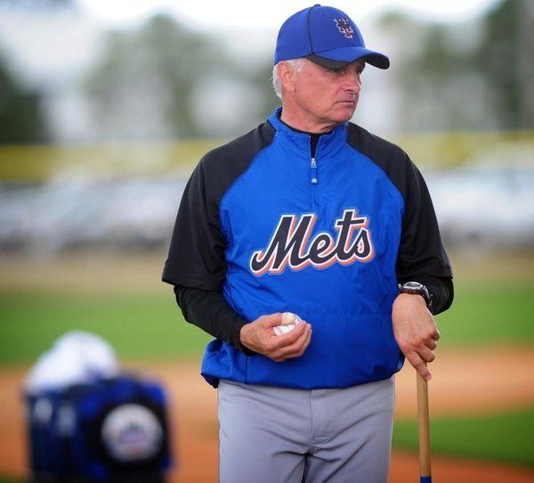 Mets minor league field coordinator Terry Collins has
