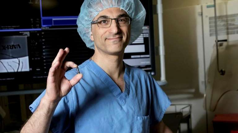 Stony Brook doctor implanting world's smallest pacemaker