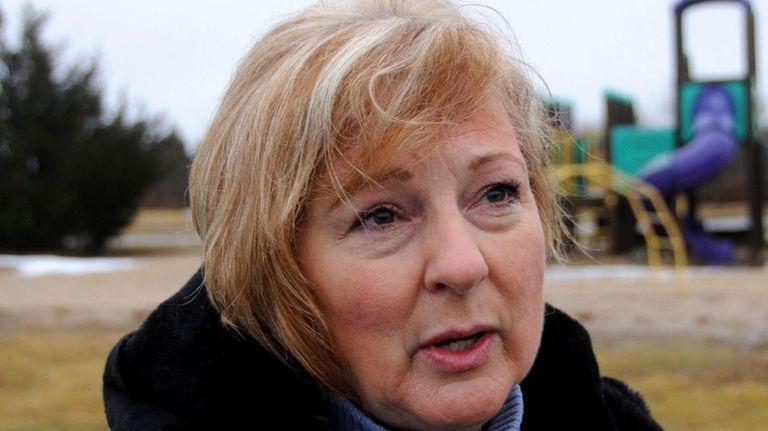 Dorothy Porteus, Principal of Riverhead Charter School, talks