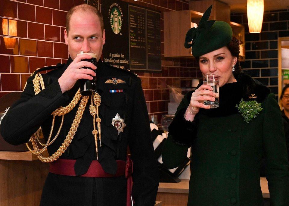 Prince William, Duke of Cambridge, and Catherine, Duchess