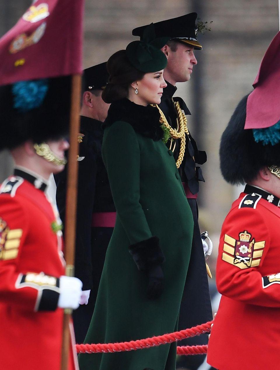 Catherine, Duchess of Cambridge and Prince William visit